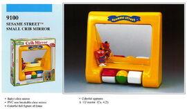 Illco 1992 baby toys small crib mirror