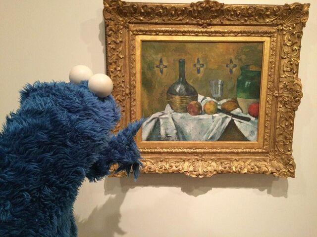 File:Cezanne cookie at guggenheim.jpg