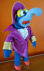 Fisher price 1981 gonzo admiral of the fleet costume