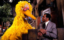 James Earl Jones and Big Bird