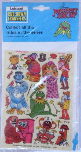 Letraset muppet 7