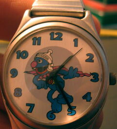 Fossil sesame street general store watch super grover