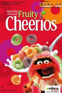 Cheerios muppets most wanted animal