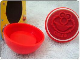 Sanrio egg rubber stamp elmo 3