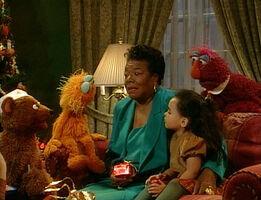 Maya Angelou Elmo Saves Christmas