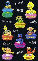 SesameStreetClassroomStickersSandylion