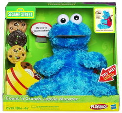Count n crunch cookie monster 2