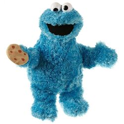 Living puppets cookie monster 33-37cm
