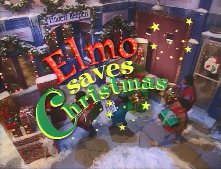 Elmo Saves Christmas Special Muppet Wiki Fandom