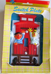 Dolly toy switch plate ernie bert