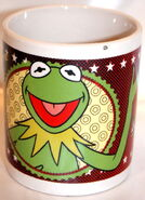 Uk 2013ish muppet ceramic mugs kermit 1