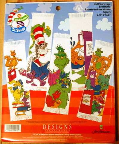 File:Designs for the needle wubbulous cross stitch story time bookmarks.jpg