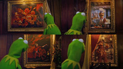 Kermit's mansion paintings