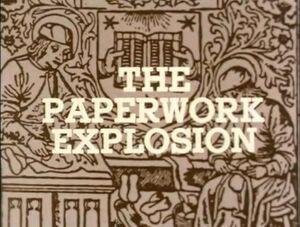 Paperwork-explosion