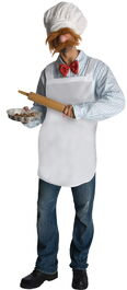 Rubies 2012 halloween costume man swedish chef