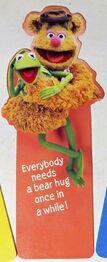 Hallmark 1980 bookmark kermit fozzie