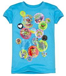 Junk food disney store 2011 shirt button muppets