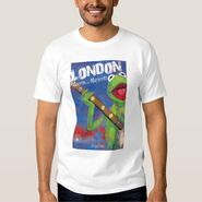 Zazzle kermit london shirt