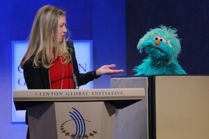 Chelsea Clinton and Rosita
