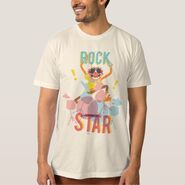 Zazzle animal rock star shirt