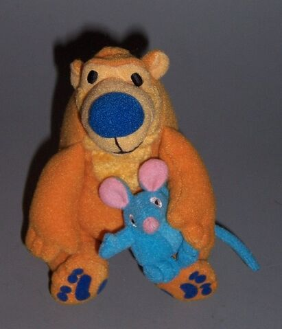 File:Bear in the big blue house - fisher price - friends cluster bear and tutter.jpg
