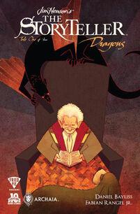 Jim Henson's Storyteller - Dragons 01-Variant - Fried Pie - Ian Herring