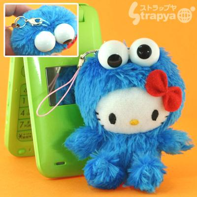 File:Strapya 2011 mascot hello kitty plush small cookie monster japan.jpg