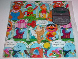 Hallmark wrapping paper gonzo