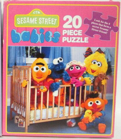 File:Milton bradley sesame babies puzzles 1992.jpg
