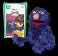 Child guidance 1973 grover puppet 1