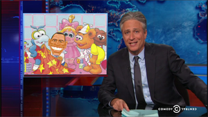 Daily Show - Obama Muppet Babies