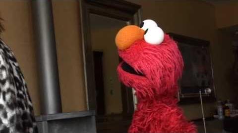 Elmo loves Ricky Gervais!