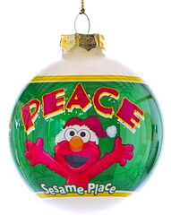 Sesame place ornament elmo