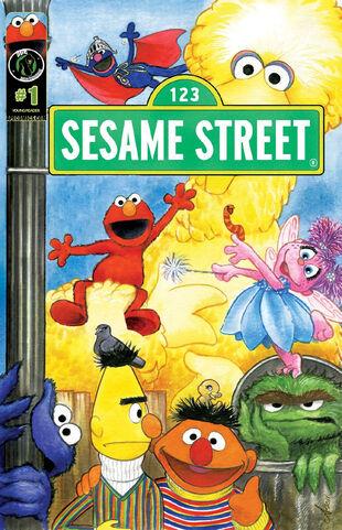 Sesame street comic ape entertainment -1