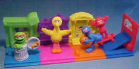 Sesame Street Happy Meal Street Scene