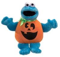 Cookie monster halloween beanbag