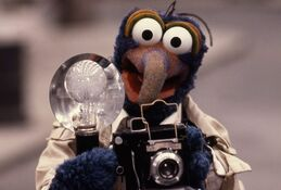 Gonzo and his camera