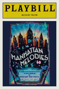 Manhattan Melodies Playbill