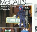 Sesame Street plush (McCall's Craft)