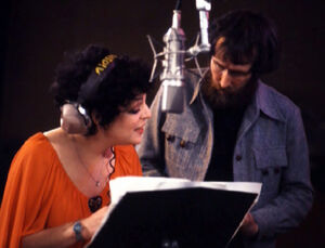Marilyn Sokol and Jim Henson