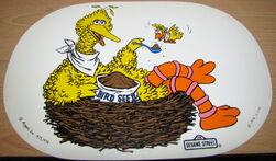 Placemat 1976 big bird
