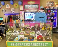 Mishka sesame display