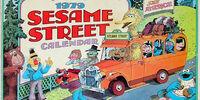 1979 Sesame Street Calendar