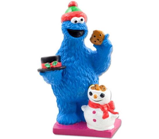 File:Cookie monster Christmas tablepiece.jpg