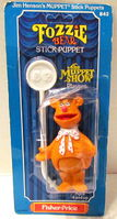 Fisher price 1979 stick puppets fozzie