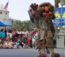 Sweetums walk-around