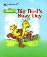 Big bird's busy day paperback