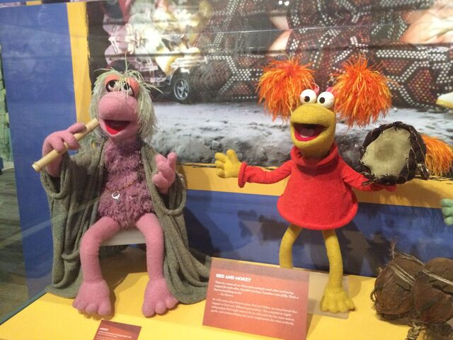 File:Center for Puppetry Arts - Fraggle Rock - Mokey & Red.jpg