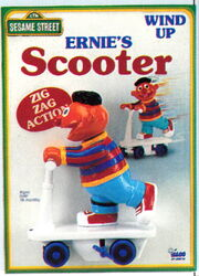Ernie's scooter 2