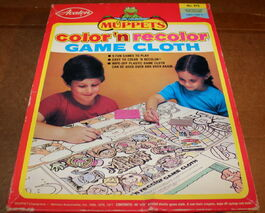 Avalon muppet color 'n recolor game cloth 4